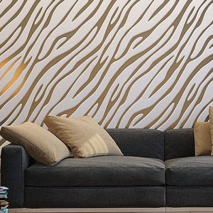 3D панели «Золотая зебра»