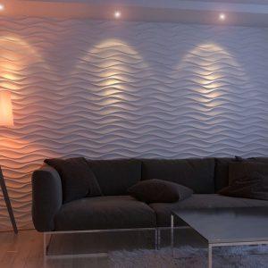 3D панели «Волна Симметричная»