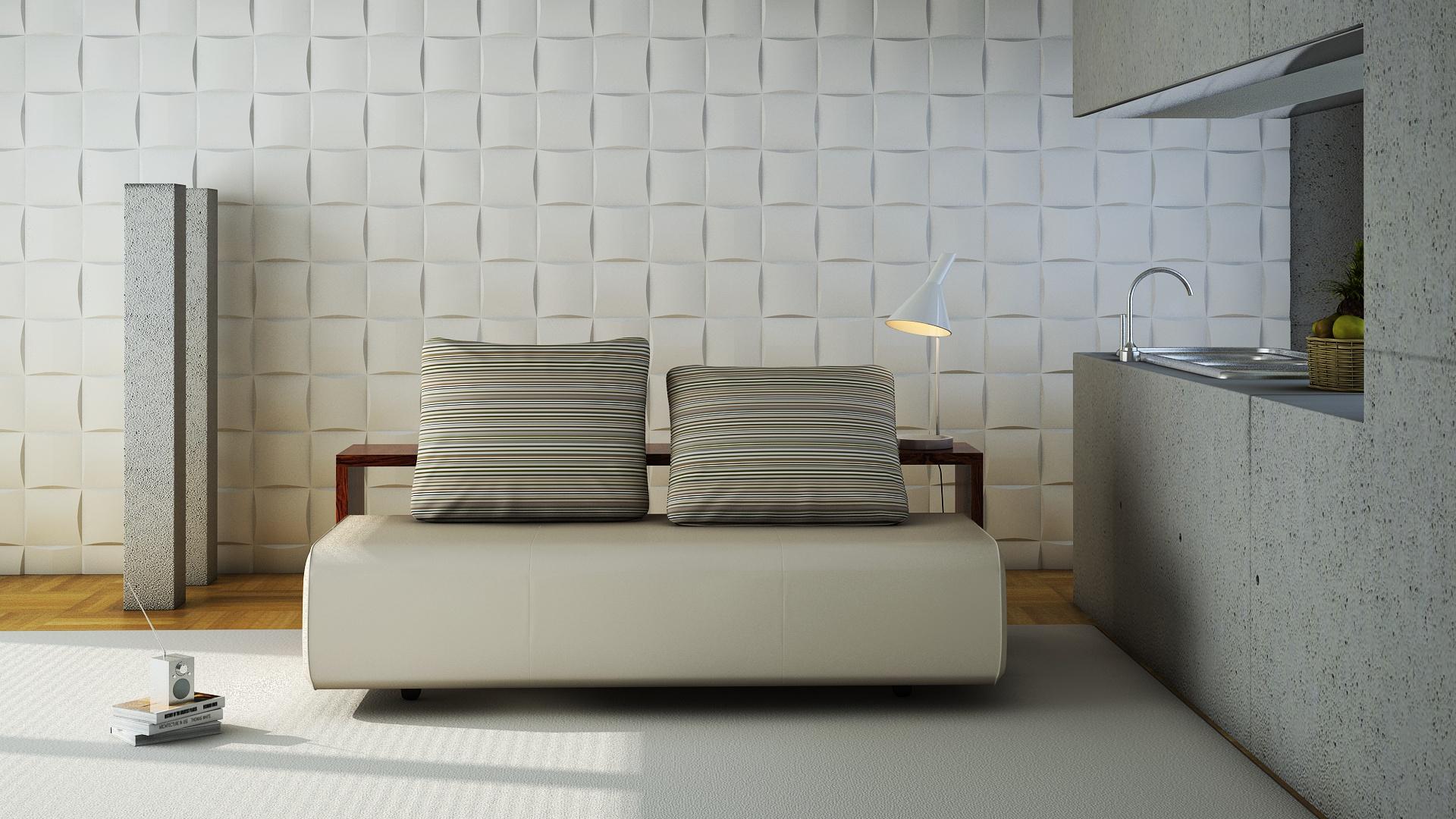 3D панели для стен - купить декоративные стеновые панели 3Д